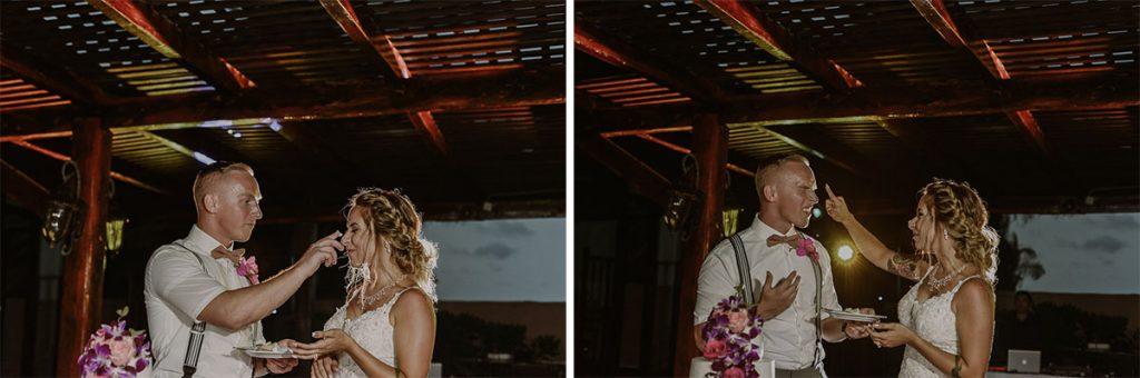 Fun wedding reception at Now Sapphire Riviera Cancun, Mexico. Caro Navarro Photography
