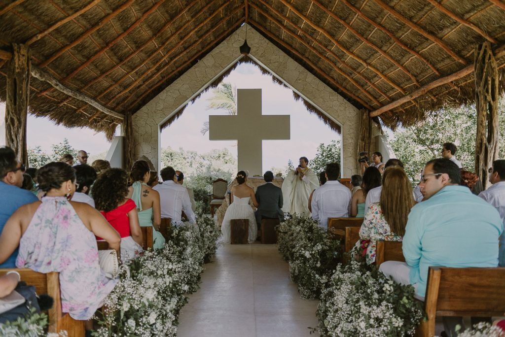 Jardin del Mar Wedding Chapel, Riviera Maya, Mexico. Caro Navarro Photography