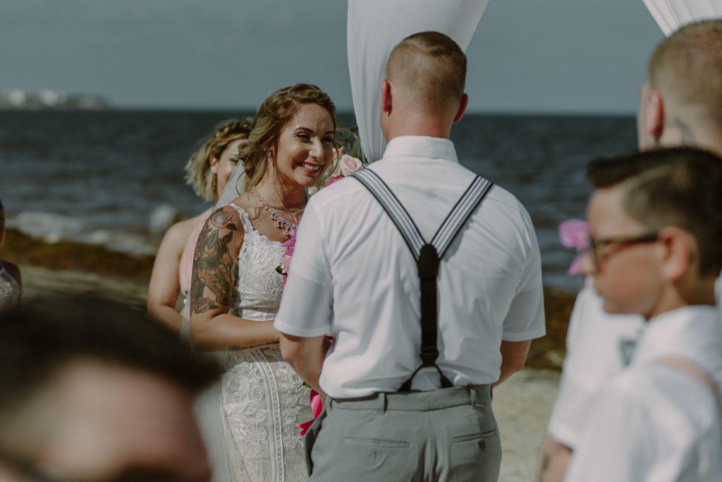 Boho Now Sapphire Beach Wedding by Caro Navarro Riviera Maya Wedding Photography
