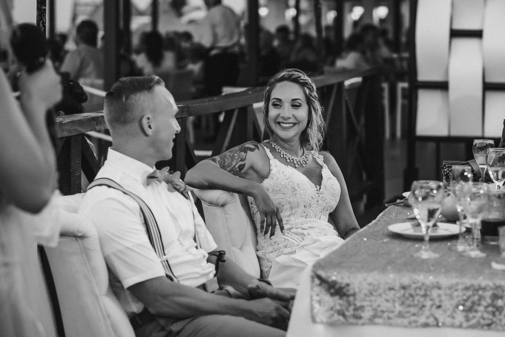 Now Sapphire Riviera Cancun wedding reception moment by Caro Navarro Photography