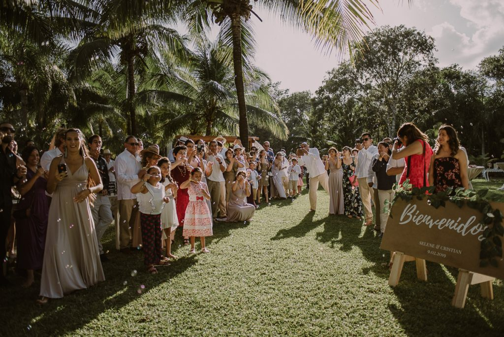 Playa del Carmen Private Garden Wedding by Caro Navarro Photography