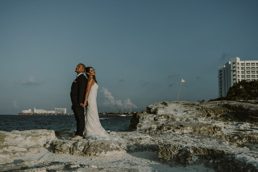 Riu Caribe Cancun wedding by Caro Navarro Photography