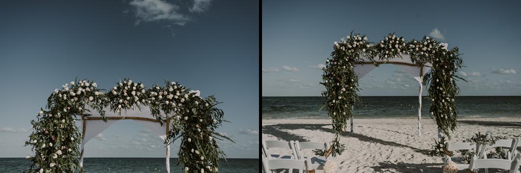 Romantic Royalton Riviera Cancun Beach Wedding by Caro Navarro Photography