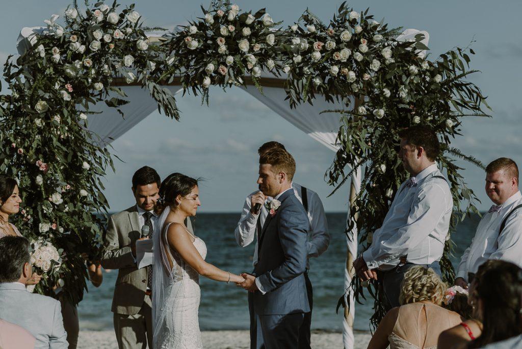 Royalton Riviera Cancun beach wedding by Caro Navarro Photography