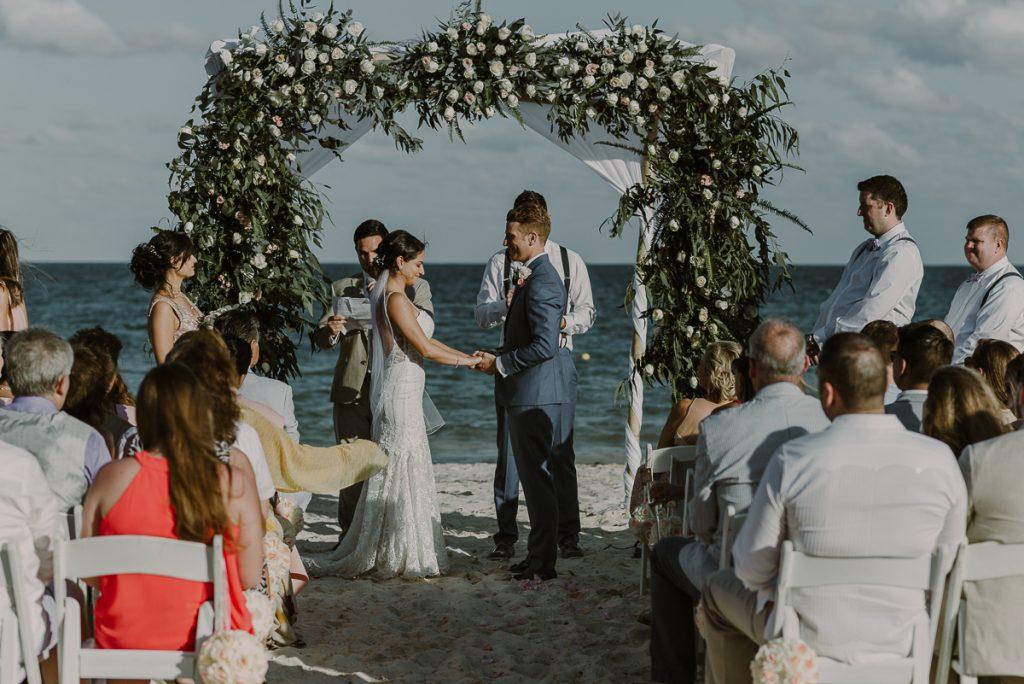 Romantic Royalton Riviera Cancun wedding by Caro Navarro Photography