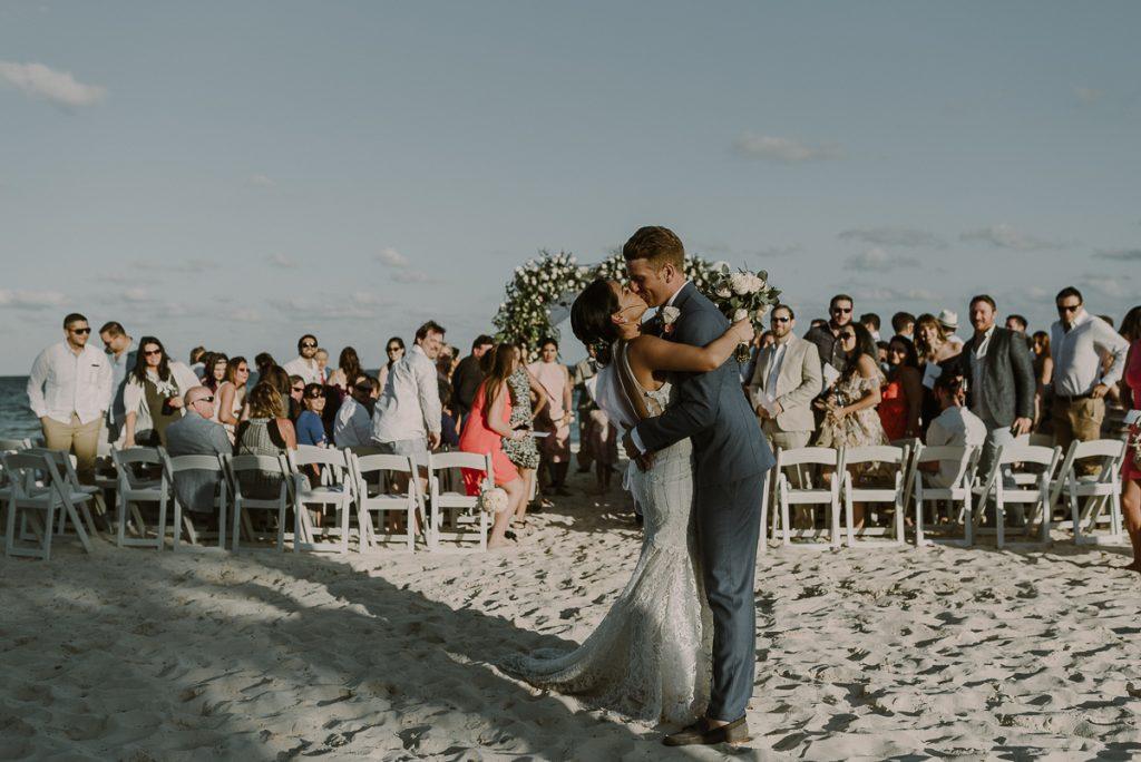Royalton Riviera Cancun beach destination wedding by Caro Navarro Photography