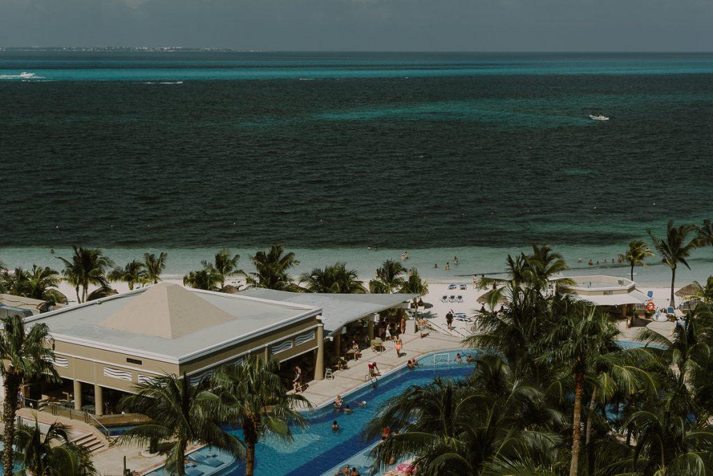 Riu Caribe Cancun destination wedding by Caro Navarro Photography