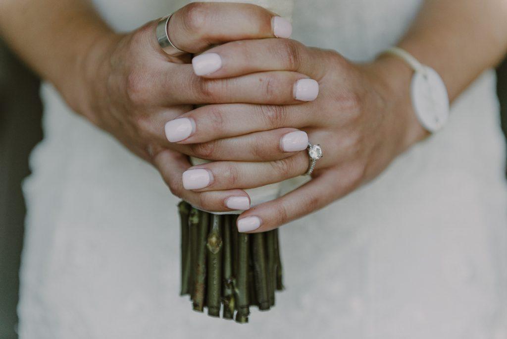 Romantic wedding nails. Royalton Riviera Cancun Destination Wedding by Caro Navarro Photography
