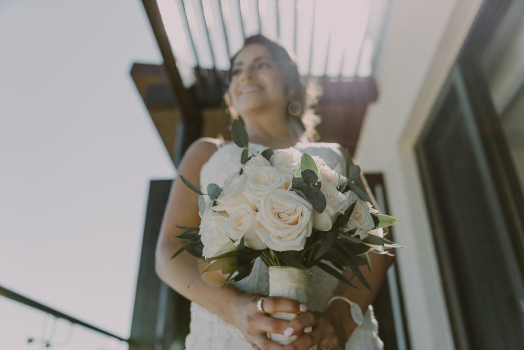 Wedding bouquet close up. Royalton Riviera Cancun Wedding by Caro Navarro Photography