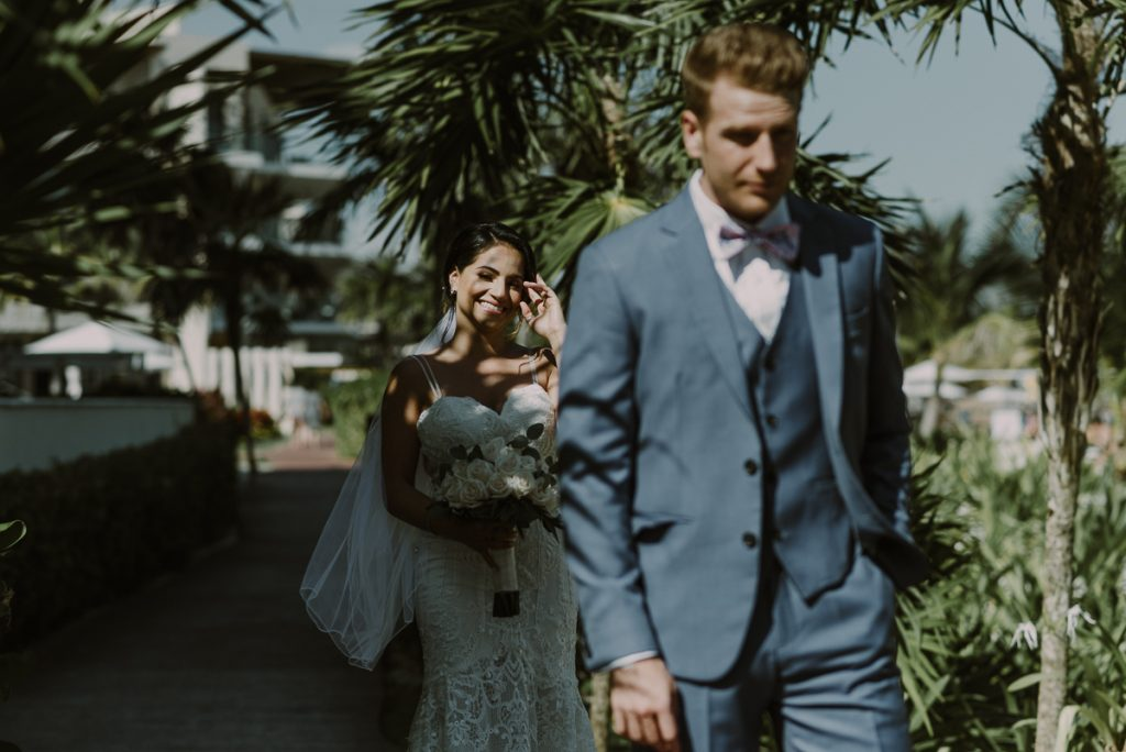 First look at Royalton Riviera Cancun Wedding by Caro Navarro Photography