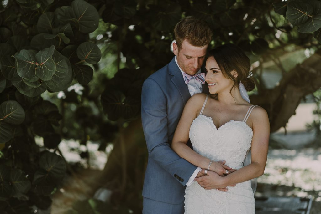 Bride and groom portraits. Royalton Riviera Cancun Wedding by Caro Navarro Photography